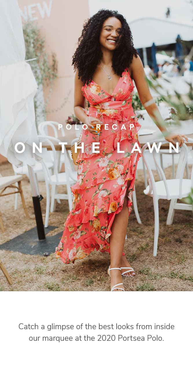 Catch a glimpse of the best looks from inside our marquee at the 2020 Portsea Polo.