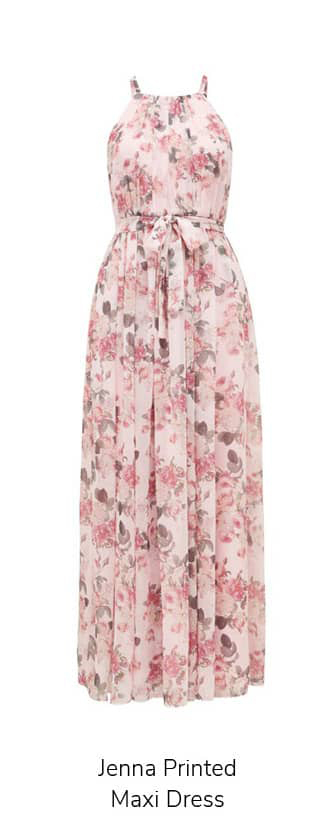 Jenna Printed Maxi Dress